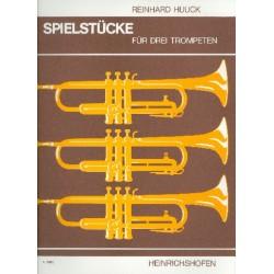Huuck, Gustl: Spielstücke : für 3 Trompeten