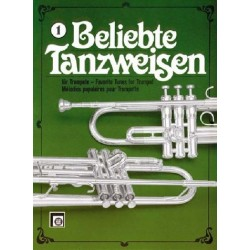 Beliebte Tanzweisen Band 1 : fürTrompete