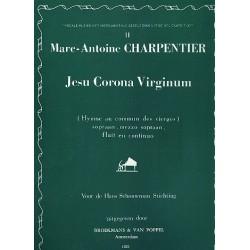 Charpentier, Marc Antoine: Jesu corona virginum : für Sopran, Mezzosopran, Flöte und Klavier