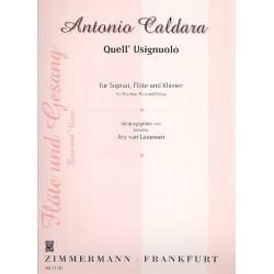 Caldara, Antonio: Quell usignuolo Aria per soprano con flauto obbligato
