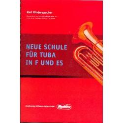 Rinderspacher, Karl: Neue Schule : für Tuba in F und Es