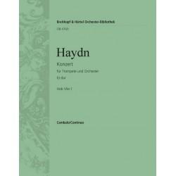Haydn, Franz Joseph: Konzert Es-Dur Hob.VIIe:1 : für Trompete und Orchester Cembalo