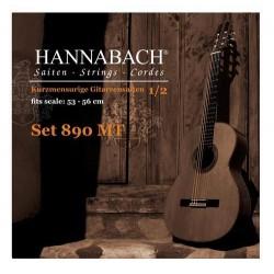 Hannabach 890MT Saitenfür Konzertgitarre 1/2