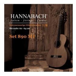 Hannabach 890MT Saitenfür Konzertgitarre 7/8