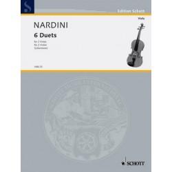 Nardini, Pietro: 6 Duette : für 2 Violen