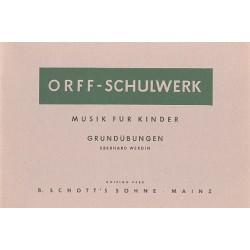 Werdin, Eberhard: Musik für Kinder - Grundübungen für Orff-Instrumente