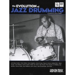 Gottlieb, Danny: The Evolution of Jazz Drumming (+mp3-CD+DVD) for drum set