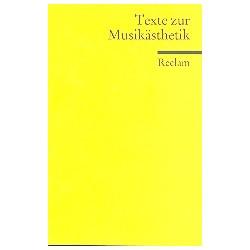 Texte zur Musikästhetik