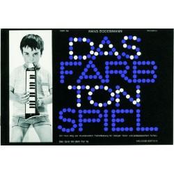 Bodenmann, Hans: Das Farbtonspiel Band 9a : für Melodica