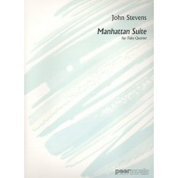 Stevens, John: Manhattan Suite for tuba quartet score and parts
