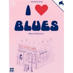 I love Blues Band 1 : Blues for everybody für Klavier