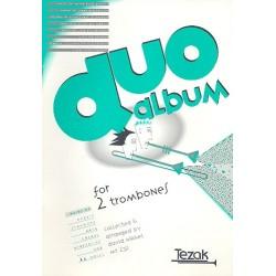 Duo-Album : Werke von der Renaissance bis zur Moderne für 2 Posaunen Spielpartitur