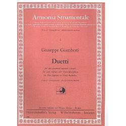 Giamberti, Giuseppe: Duette : f├╝r 2 Blockfl├Âten (SS/TT) Spielpartitur (LICHTPAUSE)