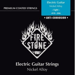 Fire & Stone Nickel alloy Saiten für E-Gitarre - Stärke: light (.010-.046)