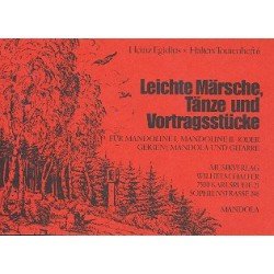 Halters Tourenheft Band 6 : f├╝r Mandolinenorchester Mandola