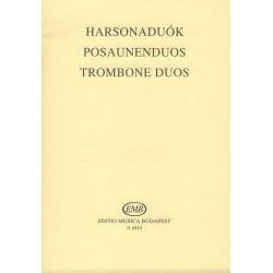 Posaunenduos Perlaki, Jozsef, ed Partitur