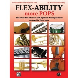 Flex-Ability more Pops : for 4 instruments trombone score