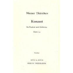 Thärichen, Werner: Konzert op.34 : für Pauken und Orchester Studienpartitur