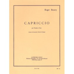 Boutry, Roger: Capriccio : pour trombone et piano