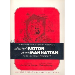 Guidry, Robert C.: Mister Patton aus Manhattan : Einzelausgabe (dt/en)