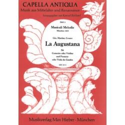 Cesare, Giovanni Martino: La augustana : für Cornetto, Posaune und Bc