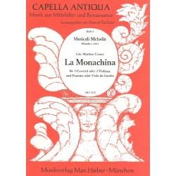 Cesare, Giovanni Martino: La Monachina : für 3 Cornette, Posaune und Bc