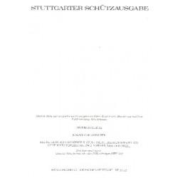 Schütz, Heinrich: Rorate coeli desuper BWV322 Geistliches Konzert für 2 Soprane, Bass und Orgel Partitur