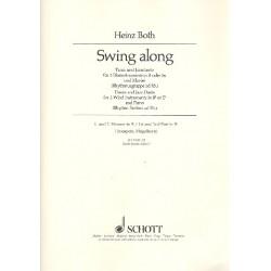 Both, Heinz: Swing along : f├╝r 2 Blasinstrumente in B (Es) und Klavier 1. und 2. Stimme in B (Trompete/Fl├╝gelhorn)