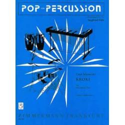 Marinovici, Cesar: Kroki für Percussion-Trio Partitur und 2 Stimmen
