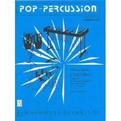 Schmitt, Meinrad: Cabo frio : Bossa nova f├╝r Vibraphon und Marimba, Percussion ad lib. Partitur und 2 Stimmen