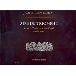 Rameau, Jean Philippe: Airs de Triomphe : für 2 Trompeten und Orgel