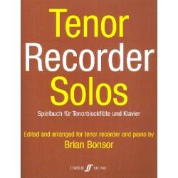 Tenor Recorder Solos : Spielbuch für Tenorblockflöte und Klavier Verlagskopie