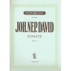 David, Johann Nepomuk: Sonate op.57 : f├╝r 3 Violoncelli