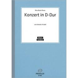 Vivaldi, Antonio: Konzert D-Dur für Gitarre und Cembalo