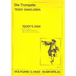 Sandleben, Teddy: TEDDY'S DIXIE : FUER 6 TROMPETEN ODER 6 GLEICHE INSTRUMENTE PARTITUR+6STIMMEN