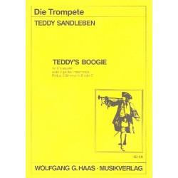 Sandleben, Teddy: Teddy's Boogie : für 6 Trompeten oder 6 gleiche Instrumente Partitur und 6 Stimmen