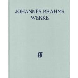 Brahms, Johannes: HN6002 Gesamtausgabe Reihe 2 Band 4 : Klavierquartett f-Moll op.34 Partitur, gebunden