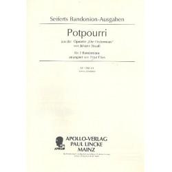 Strauß, Johann (Sohn): Potpourri aus Die Fledermaus : für 1-2 Bandoneons Bandoneon 1