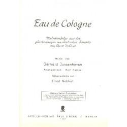 Jussenhoven, Gerhard: Eau de Cologne: für Salonorchester