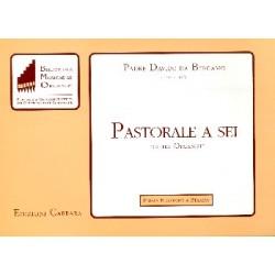 Bergamo, Padre Davide da: Pastorale a sei : per organo a 6 mani