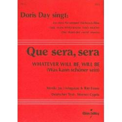 Livingston, Jay: Que sera sera : für Akkordeon (mit Text und Akkorden) (dt/en)