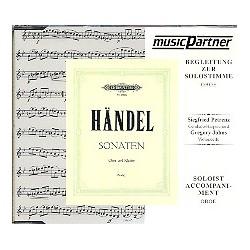 Händel, Georg Friedrich: Oboensonaten c-Moll und g-Moll : CD mit der Begleitung zur Solostimme