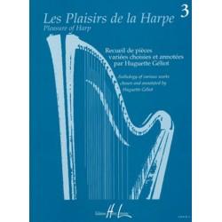 Les Plaisirs de la harpe vol.3 : pour 1-2 harpes et d'autres instruments partition
