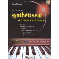 Maugain, Manu: Méthode de synthétiseur et d'orgue élextronique (+CD) (frz)