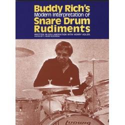 Rich, Buddy: Modern interpretation of snare drum