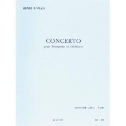 Tomasi, Henri: Concerto : pour trompette et orchestre partition miniature
