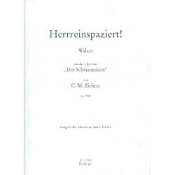 Ziehrer, Carl Michael: Herrreinspaziert op.518 : Walzer f├╝r Klavier
