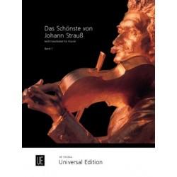 Strauß, Johann (Sohn): Das schönste von Johann Strauss : für Klavier in leichter Spielart