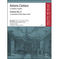 Caldara, Antonio: SINFONIA NR. 12 A-MOLL FUER STREICHER SET