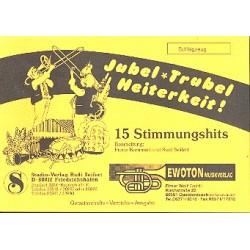 Jubel Trubel Heiterkeit : f├╝r Blasorchester Schlagzeug